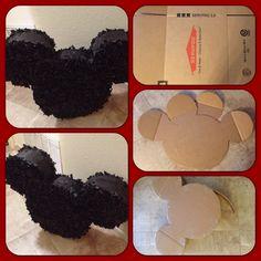 Mickey Mouse Piñata by ME #DIY