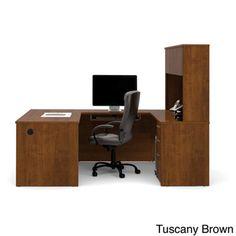 Bestar Embassy U-shape Desk | Overstock.com Shopping - The Best Prices on Bestar U-Shape Desks
