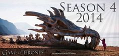 Game of Thrones ~ season 4 ~ 2014....can't freaking wait!