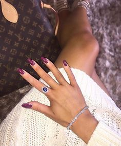 @sellisx wearing our Royalty Blue Ring and Half Row Bangle  #diamonfire #instaglam #nails - Shop now for diamonfire > http://ift.tt/1Ja6lvu