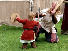 Like and Share fb.me/MimisbrunnrPage  [Elfwine first learning to play fight with axe and shield?  possibly Chronicle 82: Fatherhood]