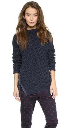 3.1 Phillip Lim's zipper detailed sweater, i heart  http://rstyle.me/n/srskmbgzq7