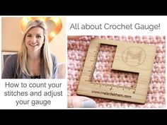 All You Need To Know About Crochet Gauge! - Starting Chain
