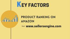 Amazon Seller, Hard Part, Factors, Engineering, Key, Business, Unique Key, Keys, Architectural Engineering