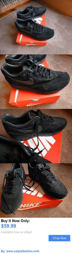 Men shoes: Brand New~Mens Size 9.5 Black Nike Running Shoes BUY IT NOW ONLY: $59.99 #ustylefashionMenshoes OR #ustylefashion