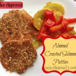 Best Almond Crusted Salmon Patties!  Paleo approved too!