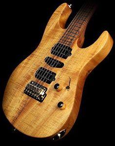 Suhr Modern Curly Koa Electric Guitar Natural Oil