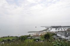 The view from the deck of the Alexandra Hotel, Lyme Regis. This is where I would like to stay.