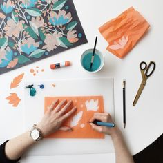 Discover the behind the design of our Summer floral print on the #Fossil blog.