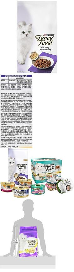 Cat Food 63073: Purina Fancy Feast Gourmet Dry Cat Food With Savory Chicken And Turkey 12 L... New -> BUY IT NOW ONLY: $33.54 on eBay!