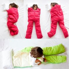 This looks so ridiculous but I bet it's so much more comfortable to actually be able to roll around lol.