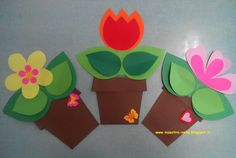 This page has a lot of free mothers day crafts ideas for kıds,preschool,kındergarten. Spring Crafts For Kids, Summer Crafts, Kids Crafts, Art For Kids, Arts And Crafts, Flower Crafts, Flower Art, Paper Art, Paper Crafts