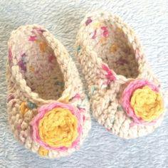 moyayarn crochet shoes