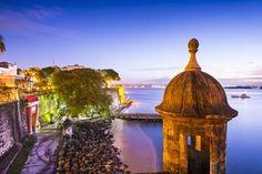 San Juan, Puerto Rico Coast at Paseo De La Princesa. Photographic Print by SeanPavonePhoto at Art.com