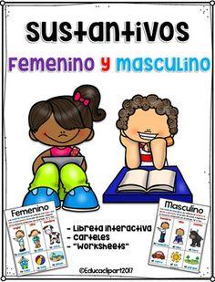 Sustantivos - femenino y masculino