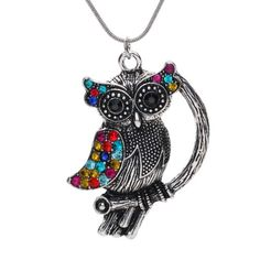 Yazilind Necklace Restore Ancient Ways Plated Silver Owl Pandent Necklace:27.5In Pendant:2In Yazilind,http://www.amazon.com/dp/B00D08J1AO/ref=cm_sw_r_pi_dp_UCd9rb1S94EBEGZA