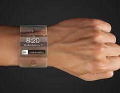Google Glass (© Getty) La fecha de lanzamiento del reloj de Apple será en otoño de 2014.  Se cree que el iWatch tendrá pantalla flexible y una larga duración de la bateria. Se podrá conectar a través de Bluetooth a un iPhone y permitirá recibir correos electrónicos, textos y notificaciones de aplicaciones.