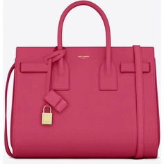 9a0908eb3a2f Saint Laurent Classic Small Sac De Jour Bag In Lipstick Pink Leather