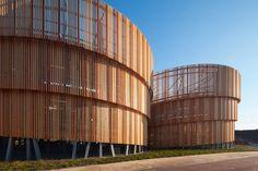 MoederscheimMoonen Architects, Parking building in Zutphen, Netherlands, 2017