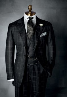 "very nice window pane suit. ""https://www.paulstuart.com """