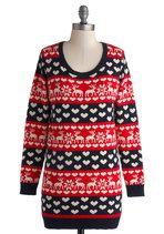 Glad to Deer It Sweater | Mod Retro Vintage Sweaters | ModCloth.com.  $75