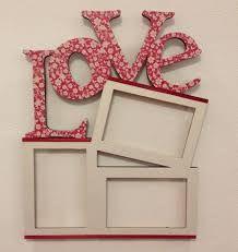 Resultado de imagen para repisas y porta retrato con letras en mdf infantiles