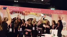Benefit Cosmetics Team at Girls Day Out Show 2016.
