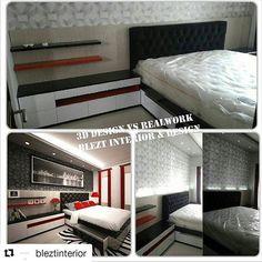 #Repost @bleztinterior (@get_repost)  ・・・ www.rumahjasainterior.com   Www.blezt.com   #desainer #desain #design #desain3d #interior #interiorrumah #rumah #jasainterior #interiorjogja #jogja #magelang #hotel #bedroom #kamar #bed #interiorjogja #inspirasirumah