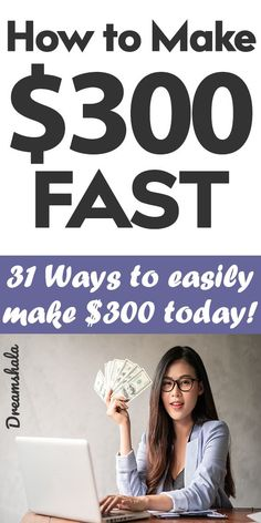 How To Make 300 Dollars Fast In a Day or Less [31 Ways]. #howtomake300dollarsfast #makemoneyfast #300dollarsfast #quickmoneyhacks #makemoney #howtomakemoneyfast #fastmoney #300dollars Make Money Fast, Make Money From Home, Make Money Online, Work From Home Careers, Legitimate Work From Home, Flexible Working, Online Business, Business Ideas, Legit Work From Home