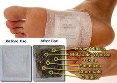 Make Homemade Detox Foot Pads Remove Toxins