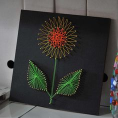 DIY Crafts String Art Kits Sunflower Patterns Nail Painting for Kids  Beginners Home Decoration