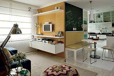 pequenos espaços, muitas idéias