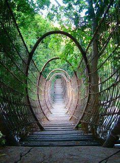 The Spider Bridge in Sun City Resort, South Africa #TopAmazingWorld