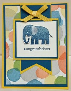 Baby Congratulations by lindathecreator - Cards and Paper Crafts at Splitcoaststampers
