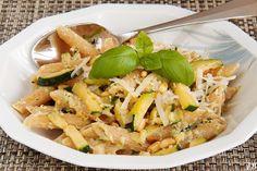 Carolines blog: Pasta met courgettepesto