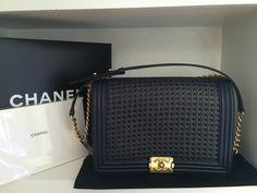 Chanel Navy Boy Bag Chanel Classic Handbag