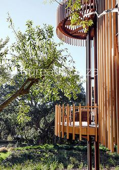 Treehouse, Wind Chimes, Playground, Costa, Small Spaces, Architecture Design, Eco Friendly, Paris, Building