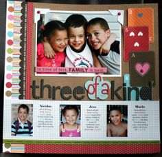 Three of a Kind - Scrapbook.com