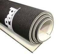 """Dynamat 21100 DynaPad 32"""" x 54"""" x 0.452"""" Thick Non-Adhesive Sound Deadener by Dynamat. $97.47. DynaPad is a four-layer composite barrier that provides excellent acoustic attenuation and thermal insulation. This heavier material utilizes """"Dissimilar Layer Insulating"""" technology that solves two of the most difficult automotive problems - exhaust system heat and low frequency noise. DynaPad is used primarily on the floor.Contains: 32 in. x 54 in. long roll 3/8 inch ..."""