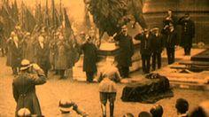 Zelden geziene beelden van begrafenis onbekende soldaat