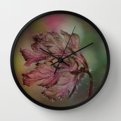 Buy Blowing... Wall Clock by Christine baessler. Worldwide shipping available at Society6.com. Just one of millions of high quality products available.