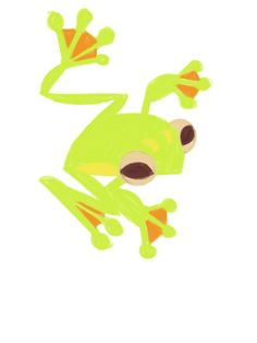 Neon Yellow froggy