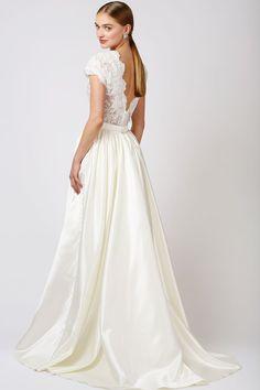 Lucette Dress & Dianna Skirt   Short Wedding Dress, Love Found True, The Babushka Ballerina, Bridal Separates, Bridal Dress, Reception Dress  
