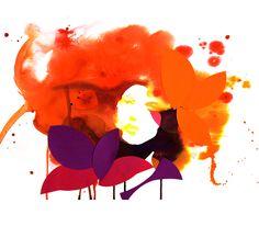 Stina Persson - watercolor + paper