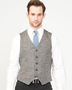 Herringbone Contemporary Fit Vest