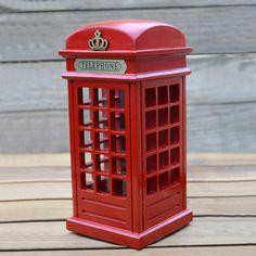 COFRE CABINE TELEFÔNICA LONDON - DEPÓSITO SANTA MARIAH