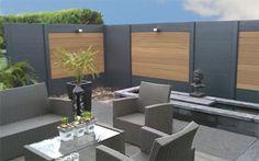 Schuttingpaneel 180x180 cm, Composiet Outdoor Furniture Sets, Outdoor Decor, Green Garden, Exterior, Landscape, Courtyard Ideas, Gardening, Tv Stands, Fencing