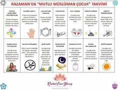 Ramazan Teaching Kids, Kids Learning, Islam For Kids, Ramadan Mubarak, Kids Education, Free Printables, Activities For Kids, School, Eid Decorations