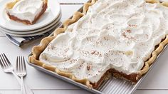We've got some irresistibly delicious desserts coming from our kitchens, starting with this French Silk Slab Pie and ending with a birthday cake-inspired cinnamon roll lasagna. 13 Desserts, Party Desserts, Delicious Desserts, Dessert Recipes, Yummy Food, Pie Recipes, Recipies, Dessert Ideas, Easy Recipes