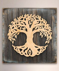 Another great find on #zulily! Celtic Tree of Life Reclaimed Wood Box Sign #zulilyfinds